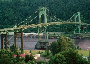 Tallest bridge in PDX