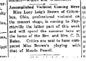 May 11, 1921 Story