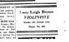 May 21, 1921 Advertisement