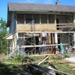 May 18 2009 porch construction
