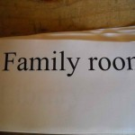 Family room wiring index card